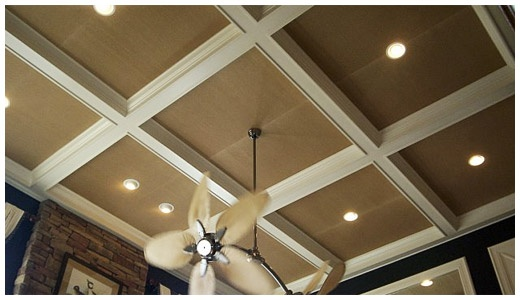 wallpaper tray ceilings home things Pinterest 520x300