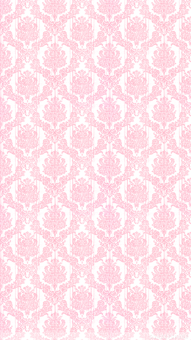 wallpaper installing this pink damask iphone wallpaper is very easy 640x1136