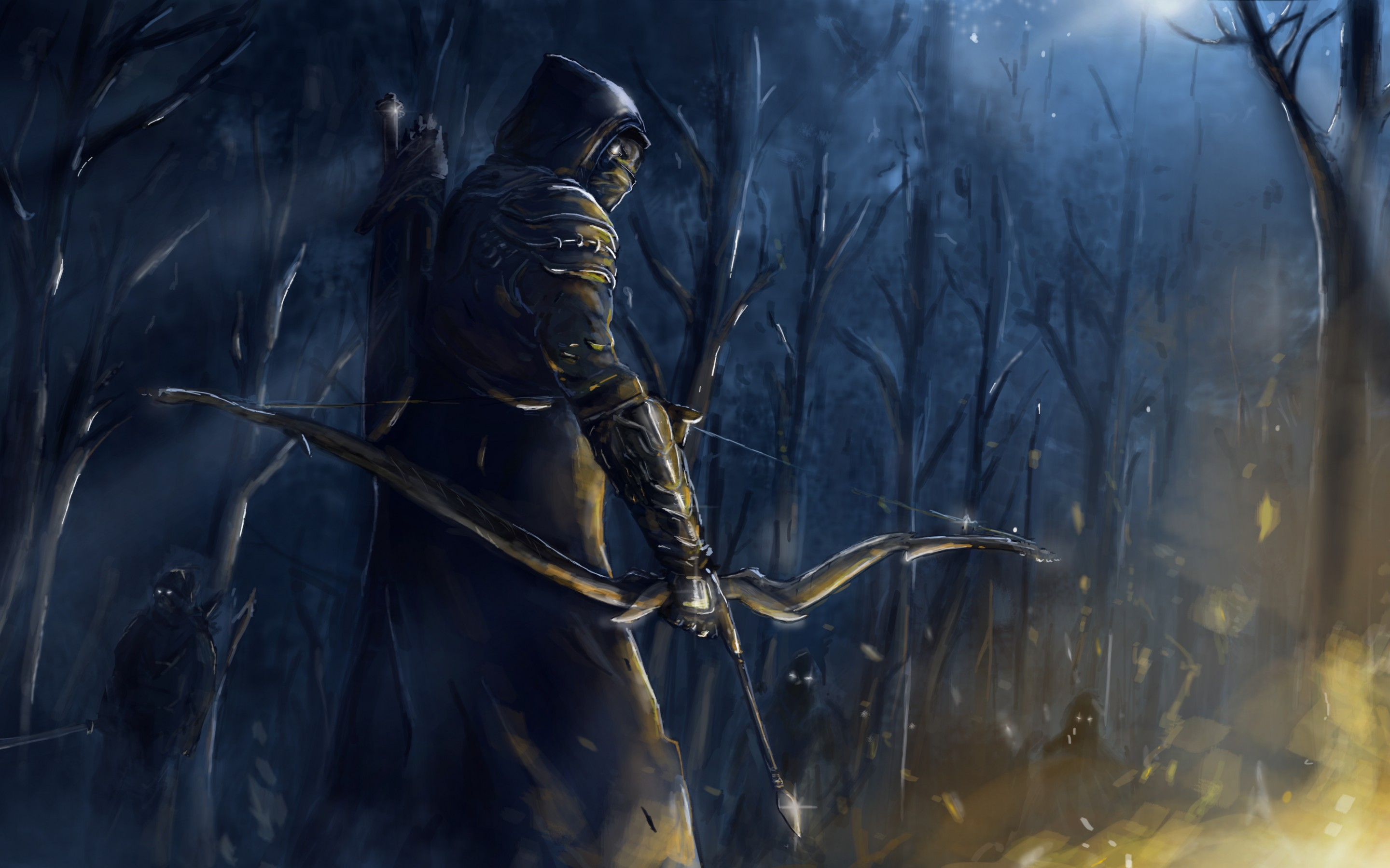Wallpaper The Elder Scrolls Online Shooter 2880x1800