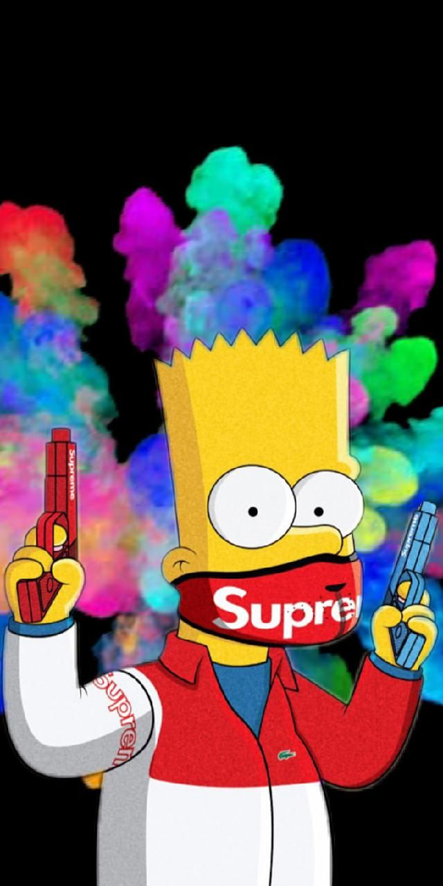 Free download 11] Supreme Simpsons Wallpapers on ...