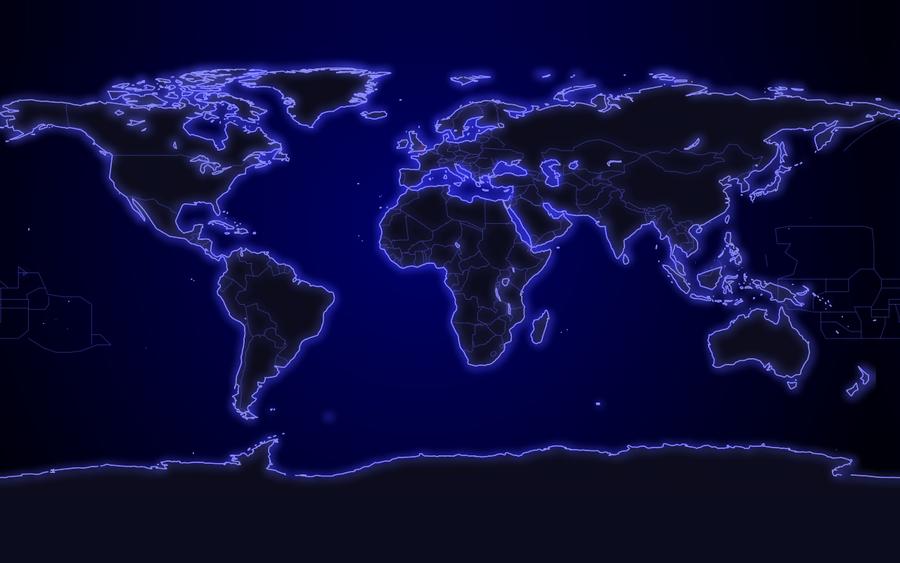 Defcon world map wallpaper by GorillazXD 900x563