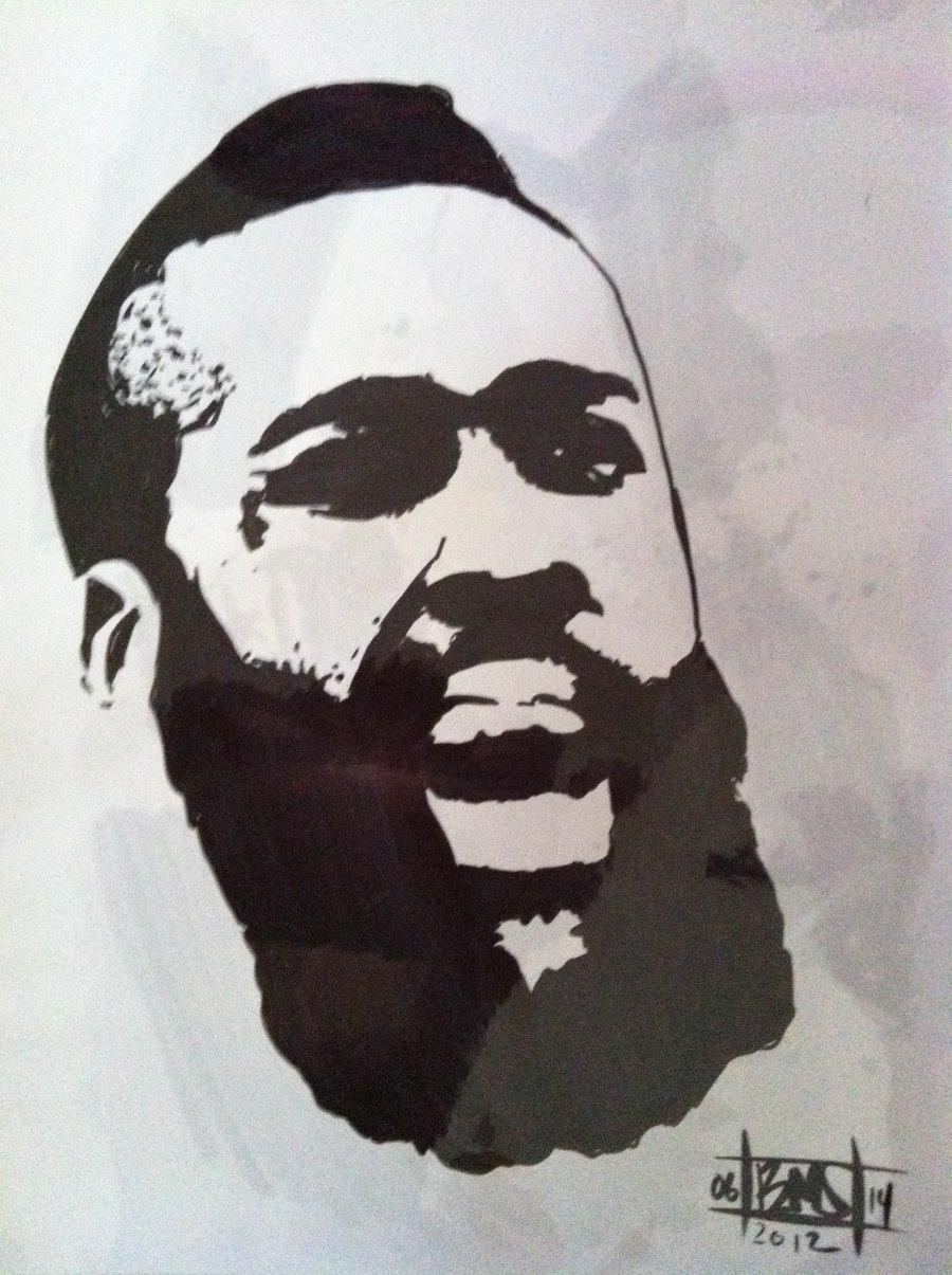 James harden fear the beard logo - photo#31