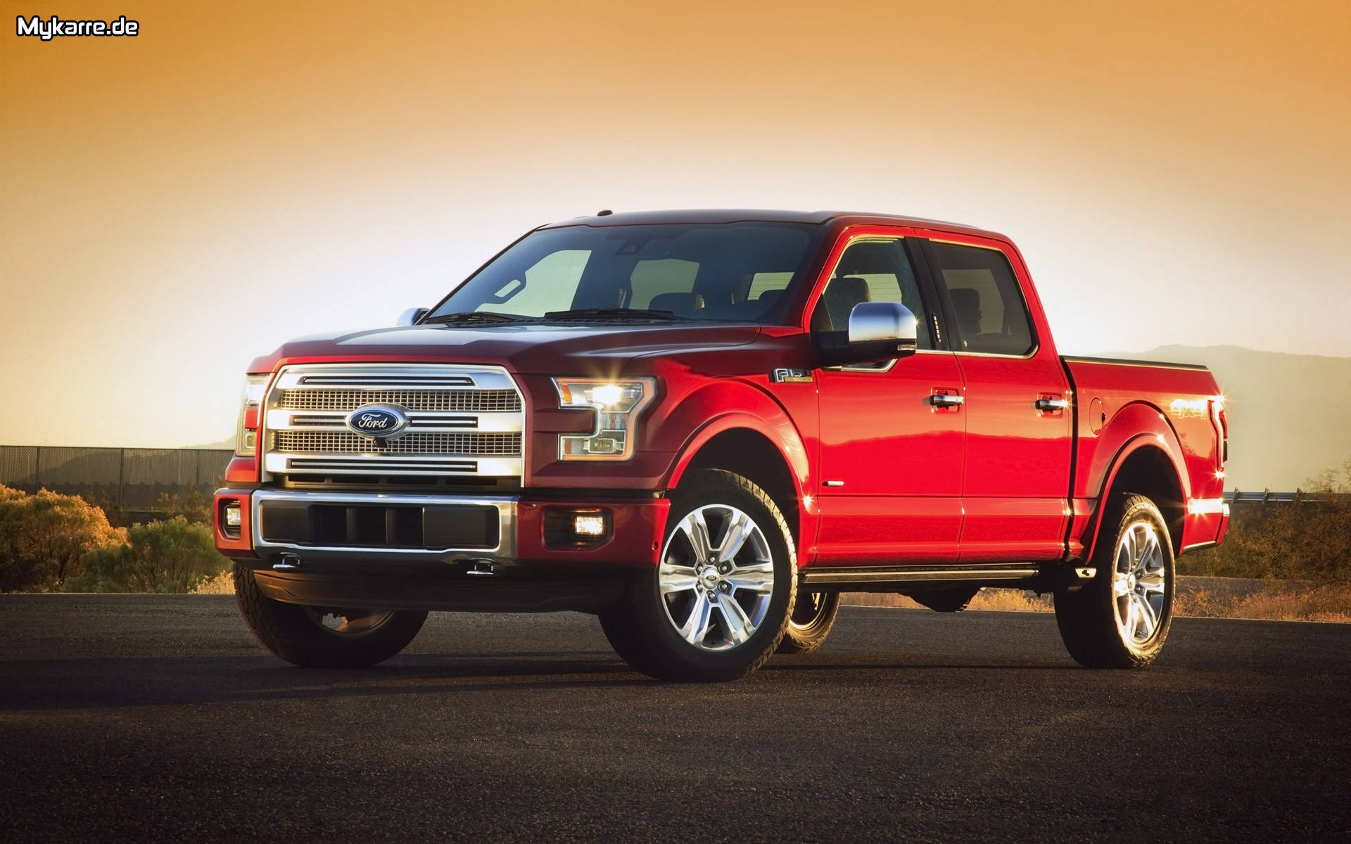 Ford F 150 Wallpaper 2015 Seitenansicht Auto Tuning News   Tuning 1920x1200