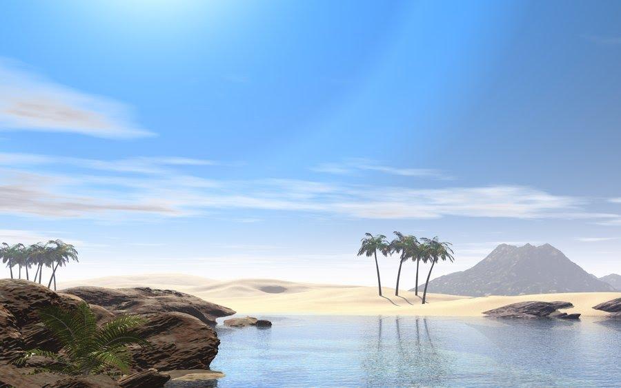 Download Deserted Island High Resolution Wallpaper 900x563