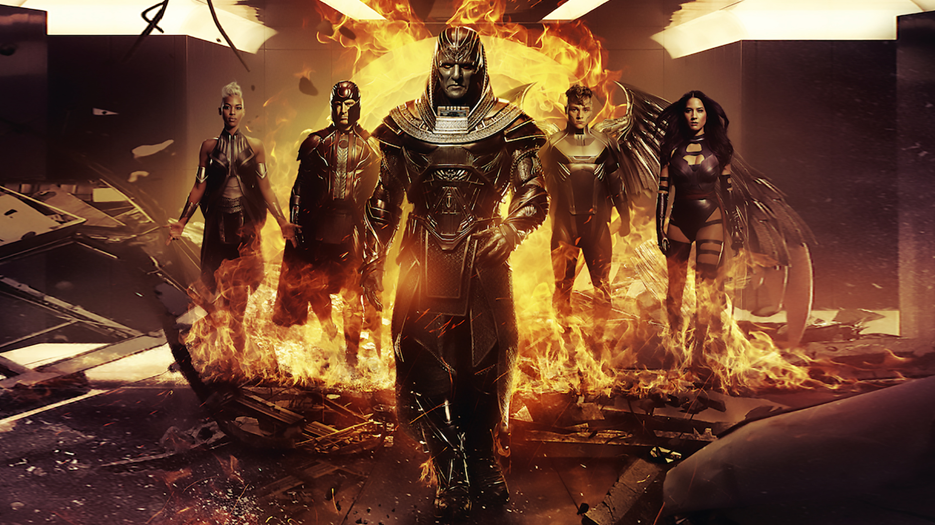 Men Apocalypse Wallpaper 1920x1080 by sachso74 1920x1080