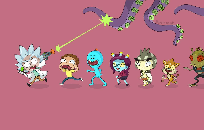 Wallpaper Smith Cartoon Sanchez Rick Rick and Morty Rick and 1332x850