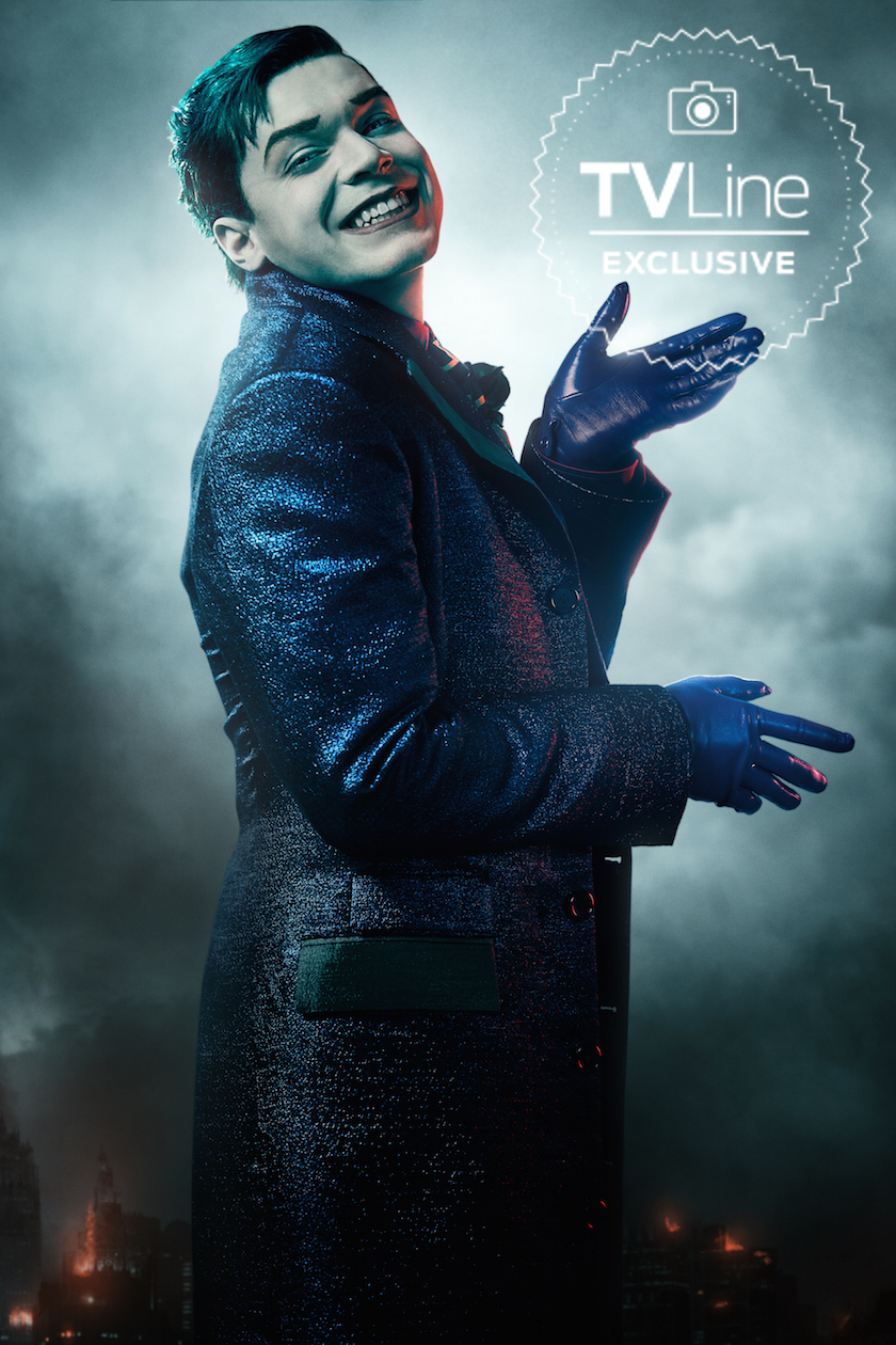 Gotham   Season 5 Portrait   Jeremiah Valeska   Gotham Photo 840x1260