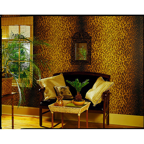 47+] Leopard Print Wallpaper for Walls on WallpaperSafari