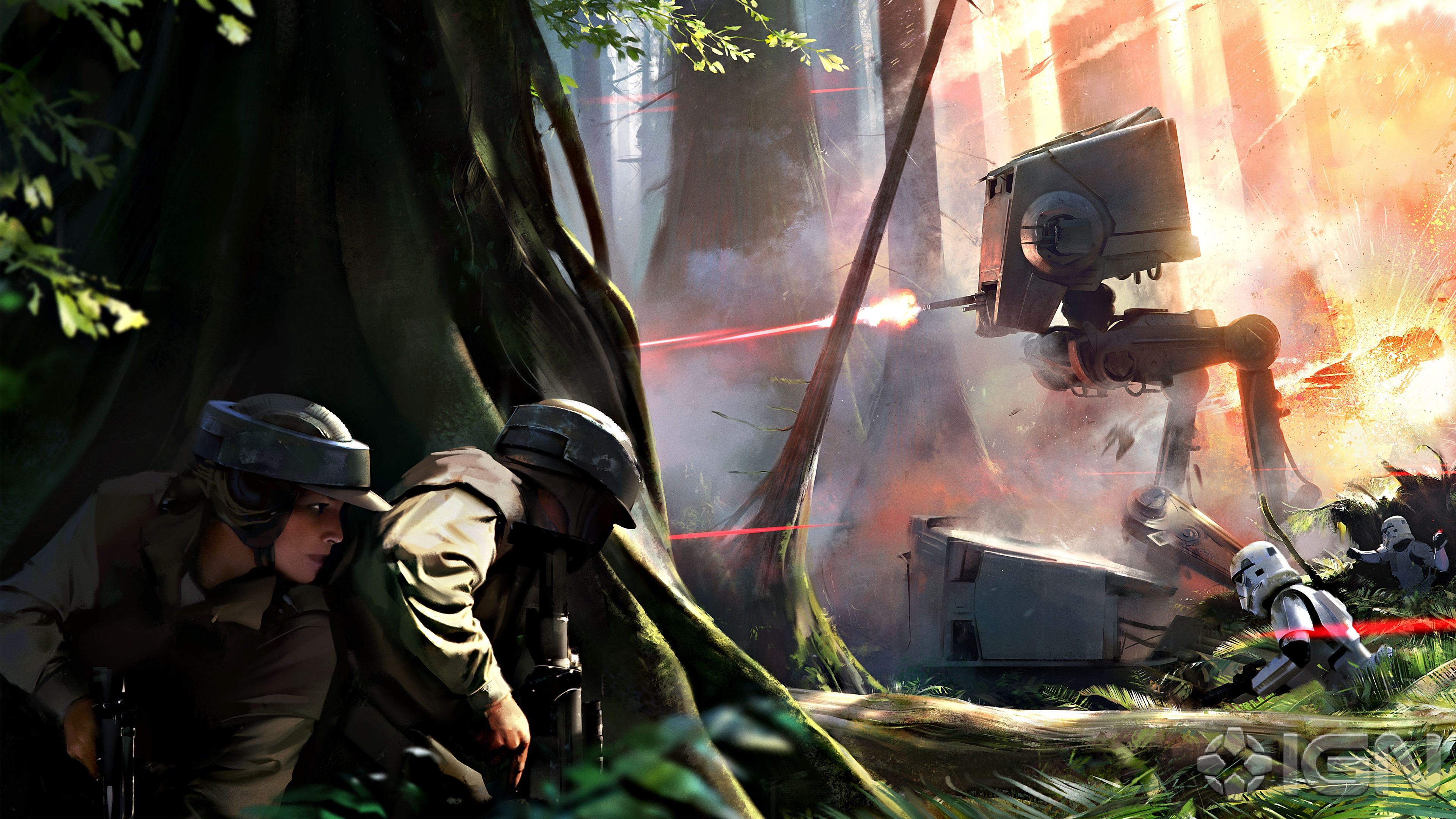 Star Wars Battlefront Game Wallpapers HD Wallpapers 3840x2160