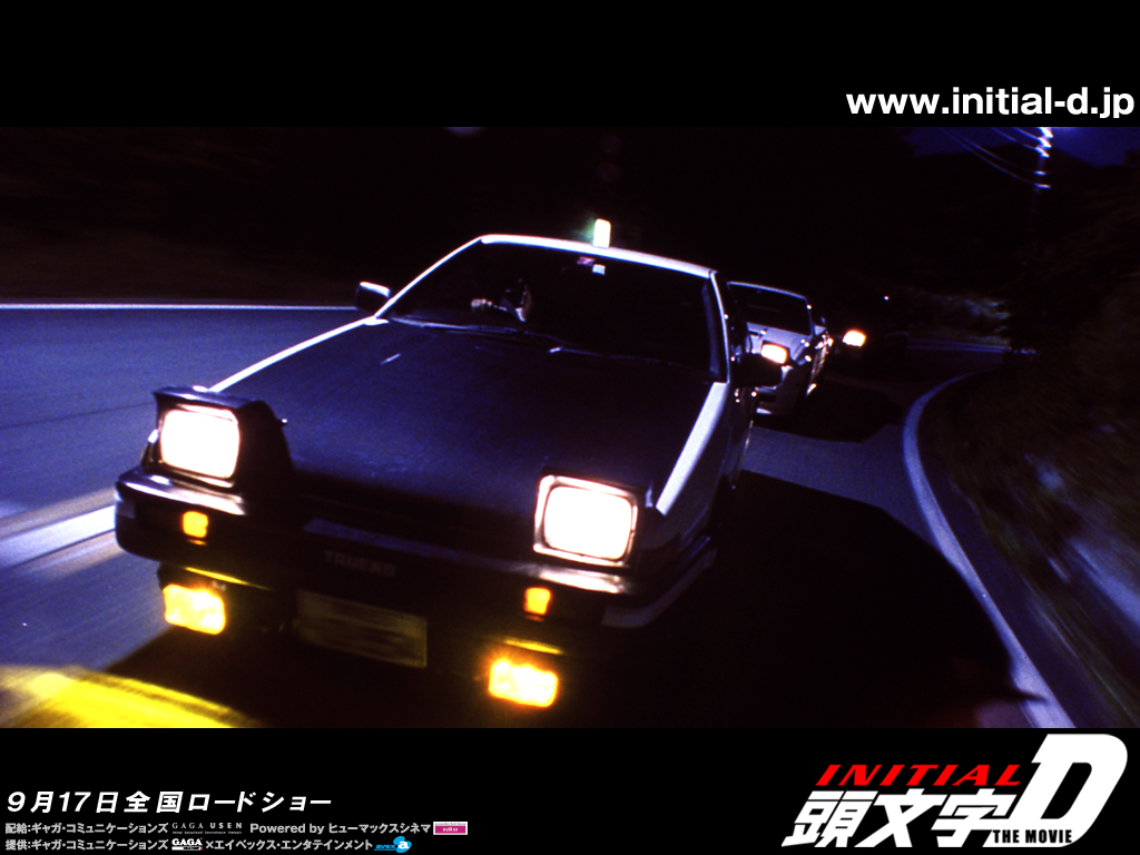 Initial D wallpaper 1024 03 in Initial D album photos and posters 1024x768