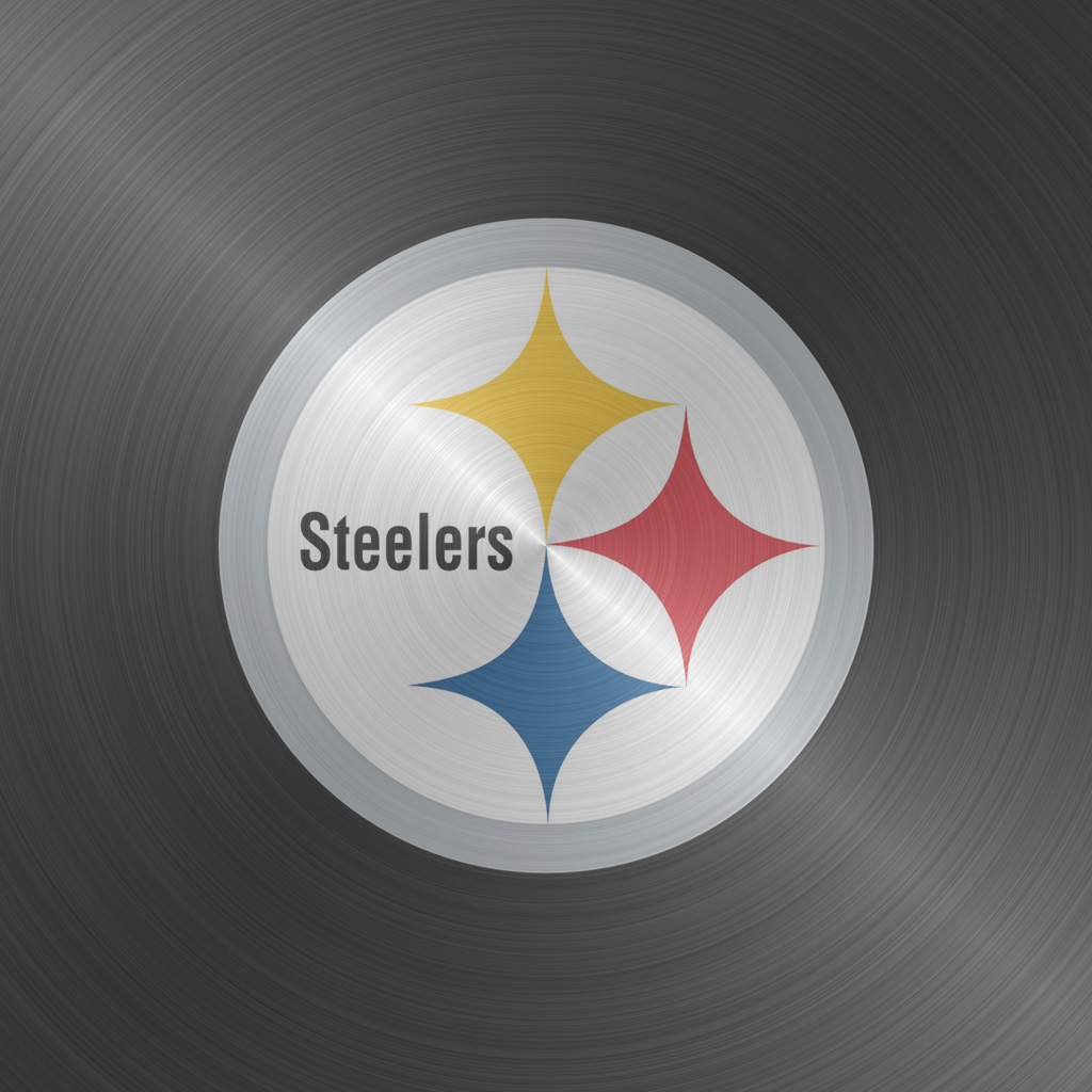 iPad Wallpapers with the Pittsburgh Steelers Team Logos Digital 1024x1024