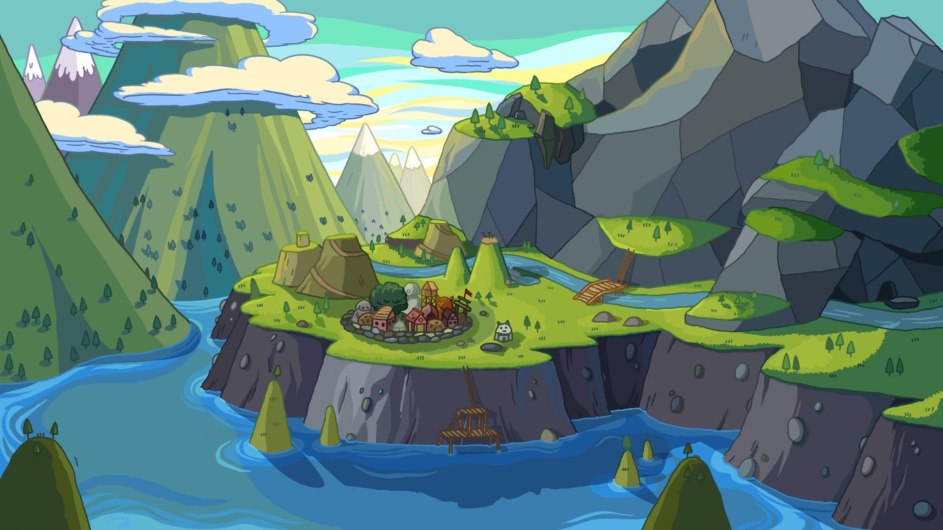 Adventure Time Computer Wallpapers Desktop Backgrounds 1920x1080