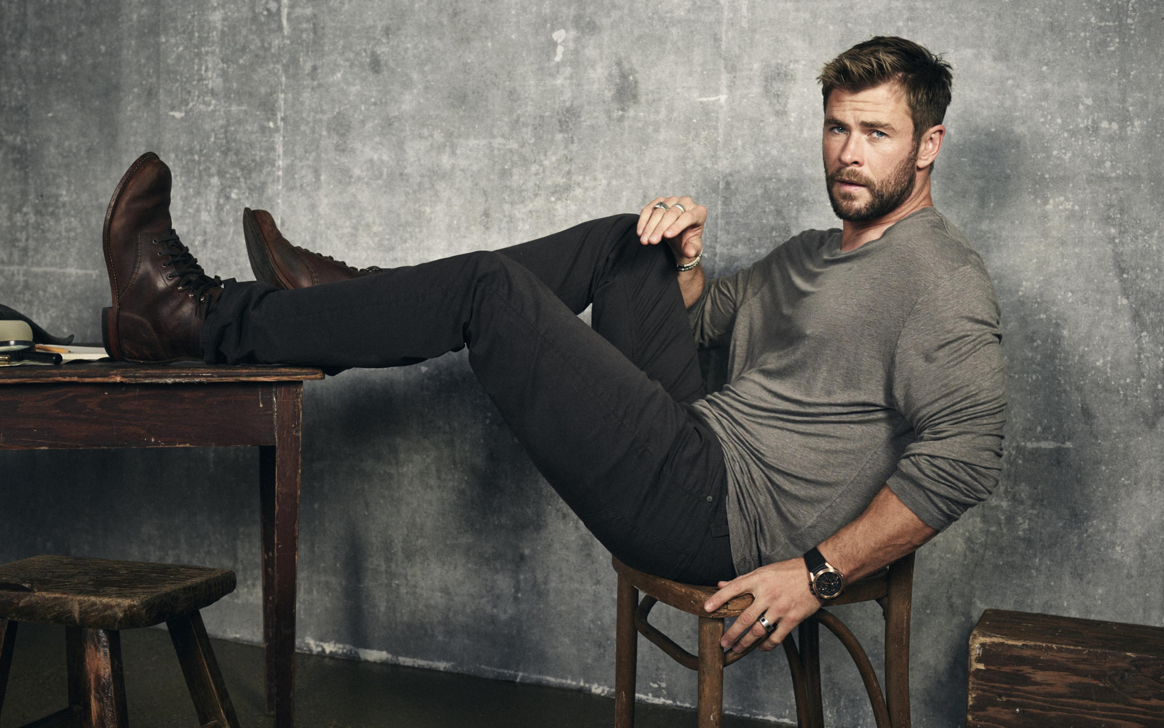 Chris Hemsworth Wallpapers   Top Chris Hemsworth Backgrounds 3840x2400
