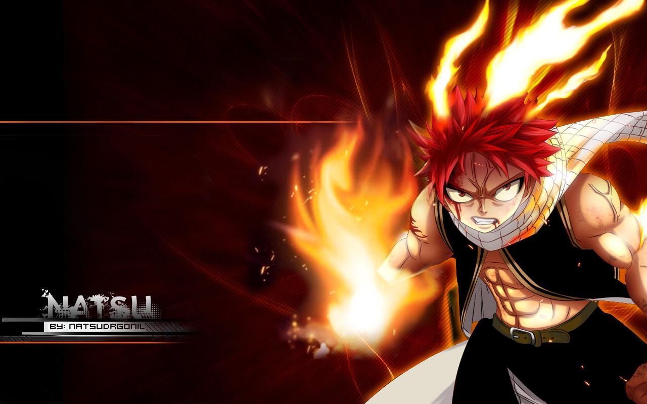 Natsu Fire Wallpaper by NatsuDrgonil 1280x800