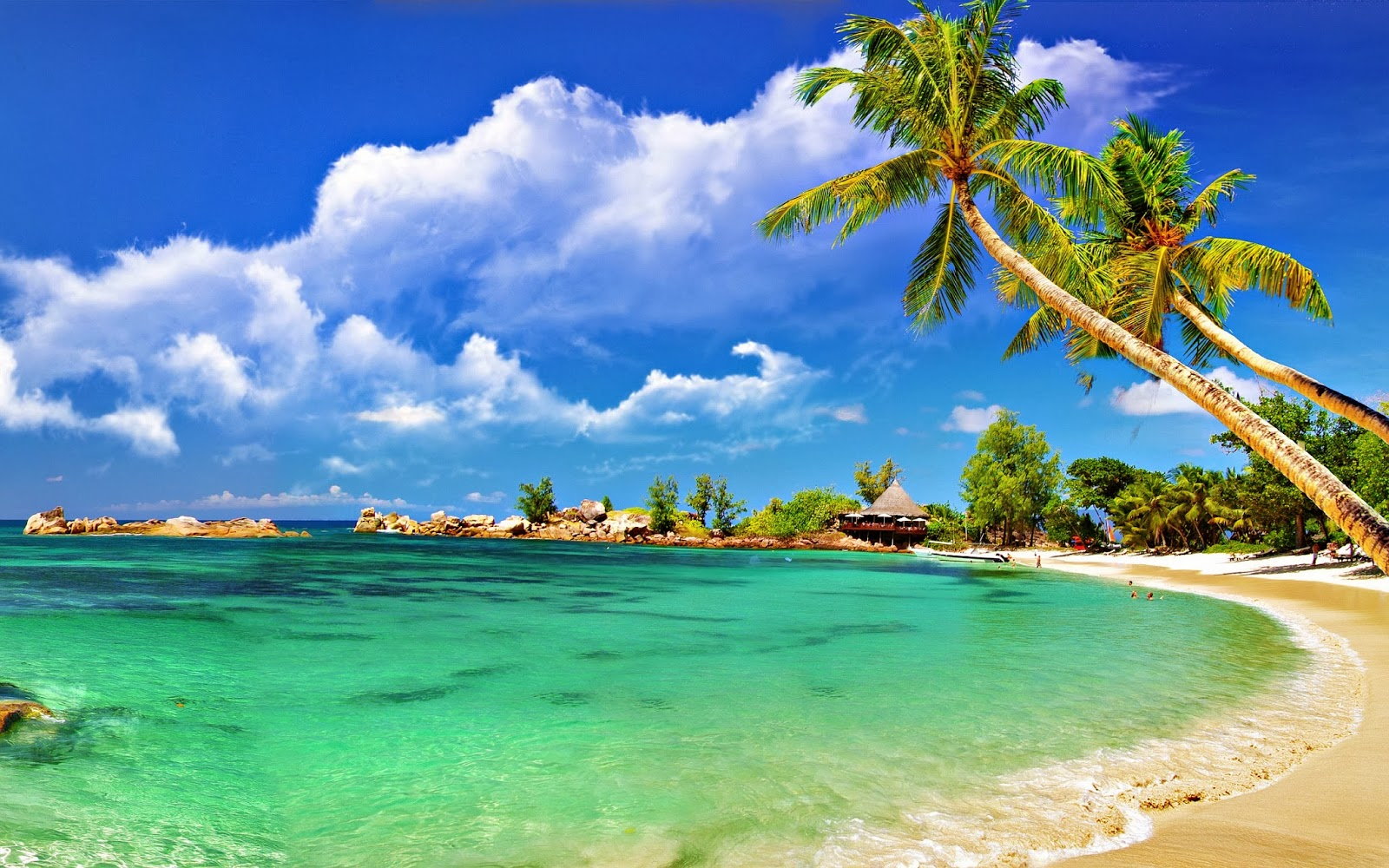 Goa Beach Blue Themes Wallpaper Background ThemesWallpaper 1600x1000