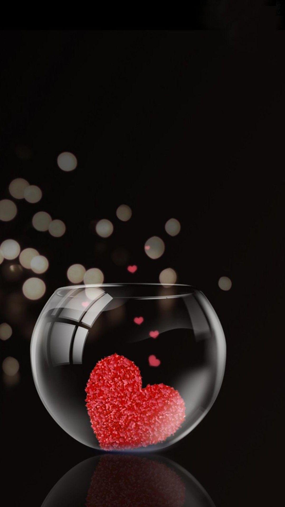 3D Love iPhone Wallpaper Love Love wallpaper Heart wallpaper 1080x1920