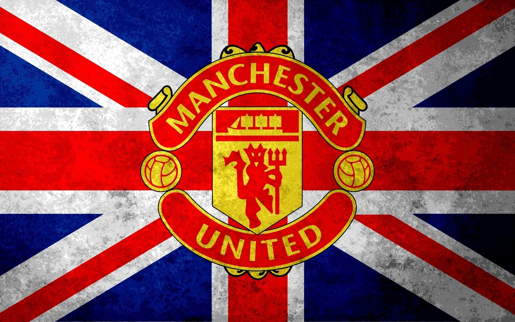 Manchester United Logo 3 Manchester United Wallpaper 1680x1050