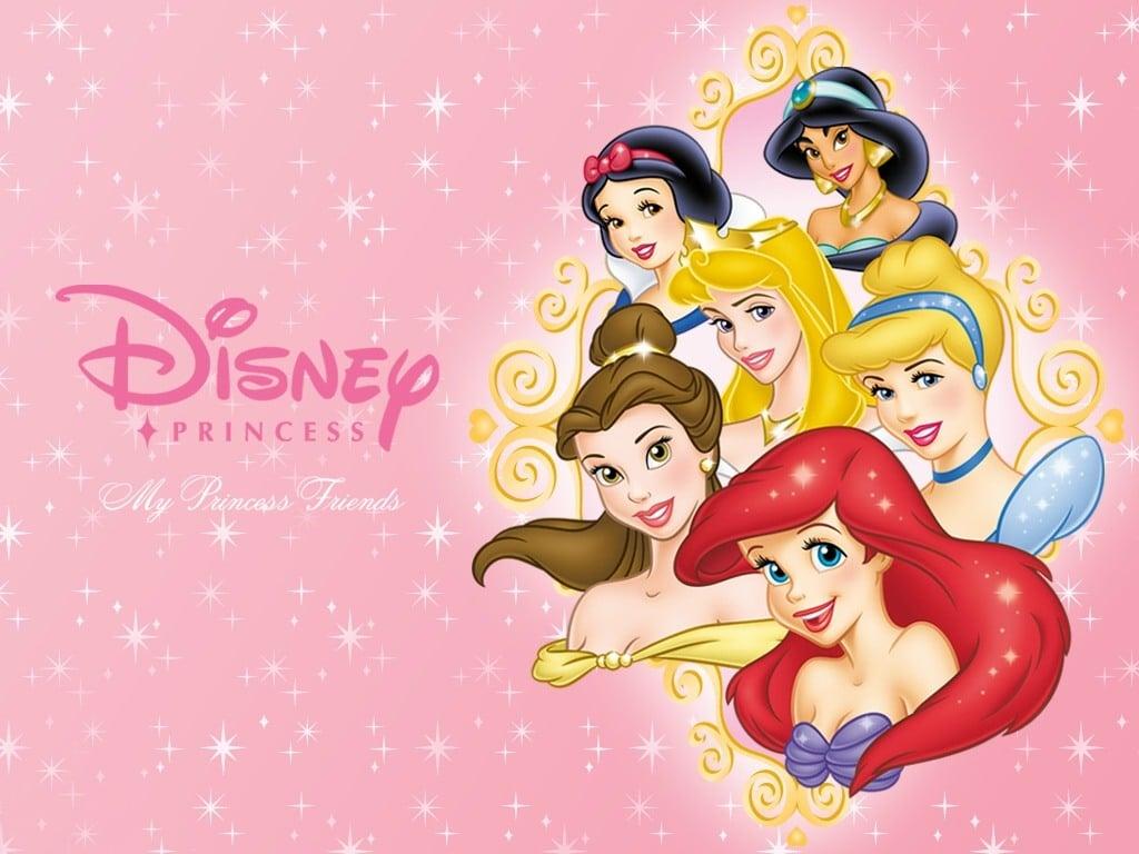 Princesas da Disney 4K HD Wallpaper 1024x768