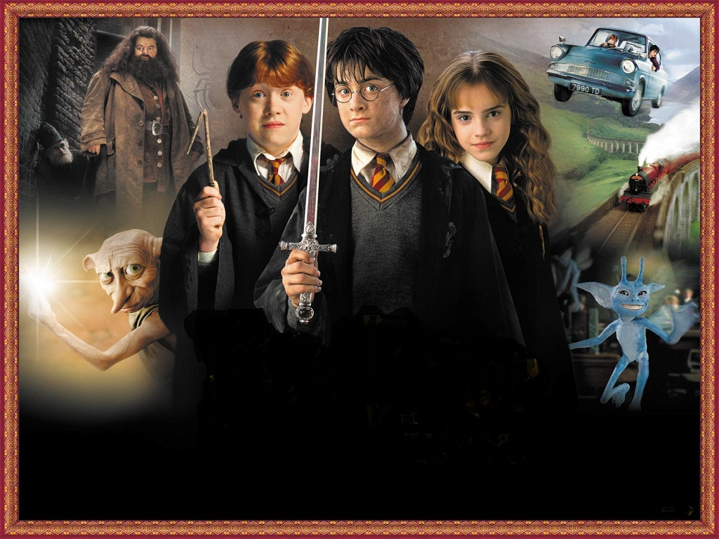 The movie   The Chamber of Secrets Wallpaper 31767805 1024x768