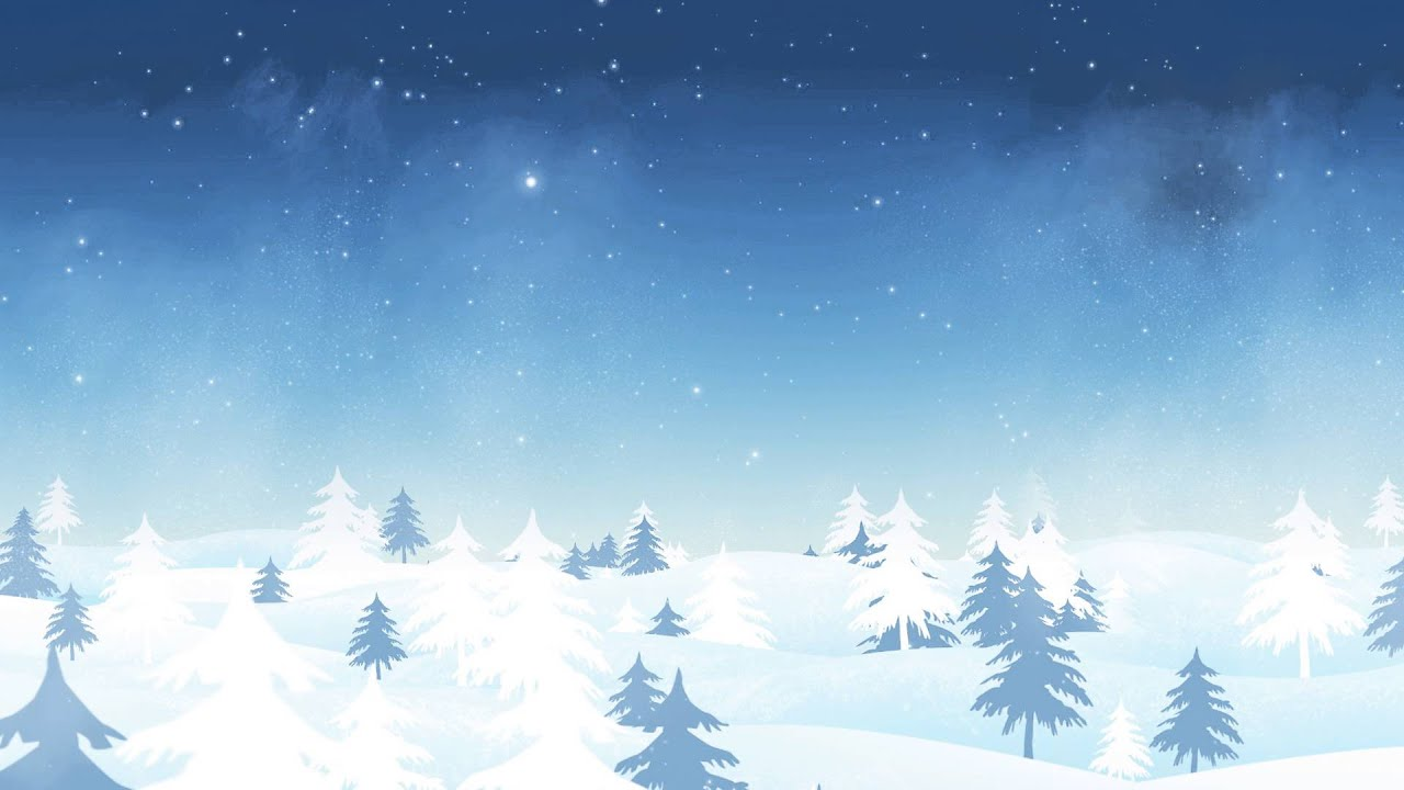 Video Background Full HD Winter Wonderland 1280x720