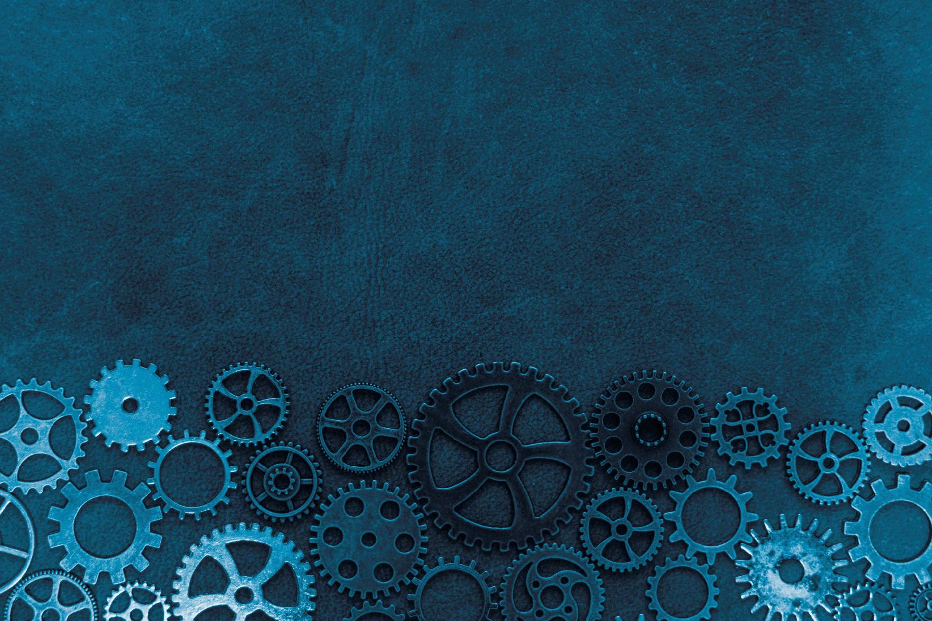 Vintage Blue Steampunk Gears Background   PhotoHDX 1899x1266