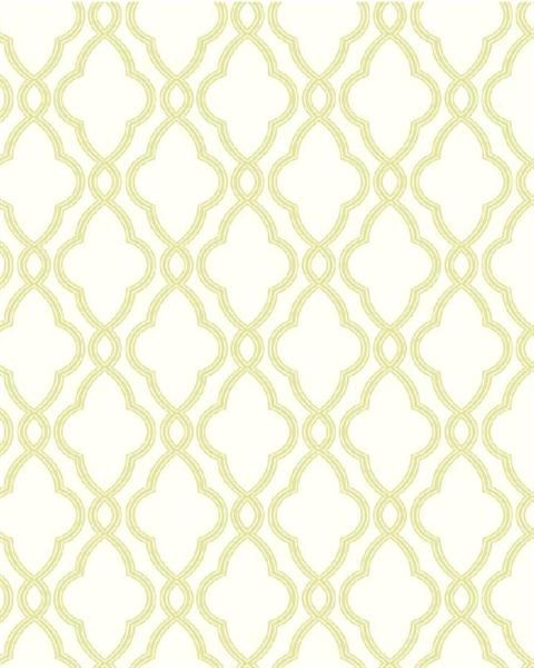 Lime Green and White Hampton Trellis Wallpaper TotalWallcoveringCom 480x600