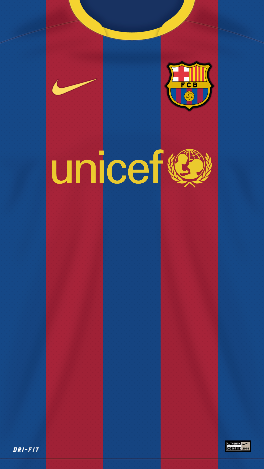 FC Barcelona 2017 Wallpapers 1055x1875