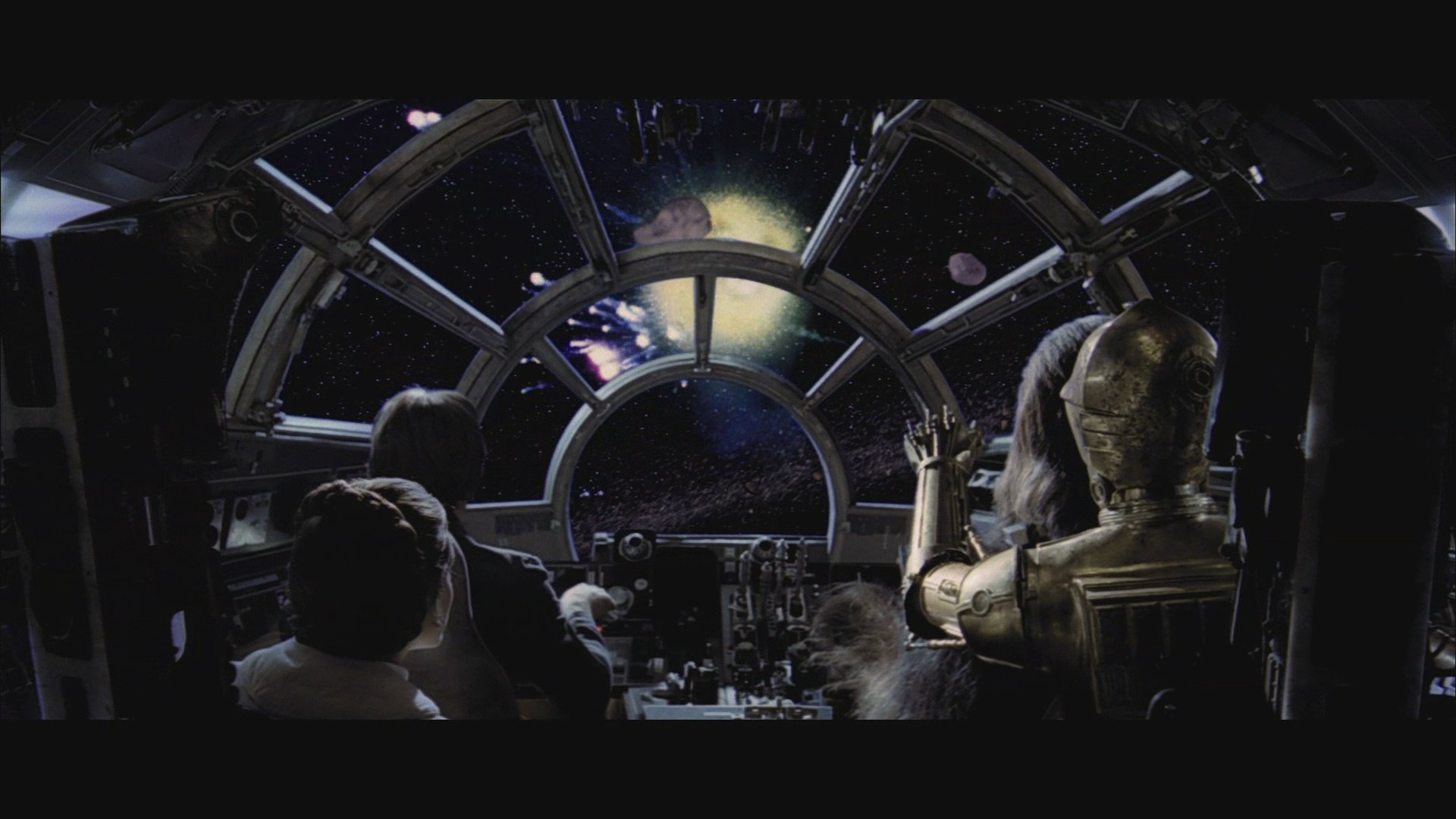 ... not actually going INTO an asteroid field are you?' a fab wallpaper