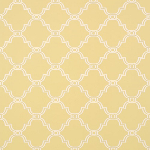 Thibaut Wallpaper Graphic Resource Stanbury Trellis T35118Yellow 500x500