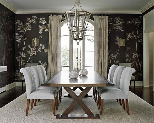 20 Eye Catching Wallpapered Rooms 600x478
