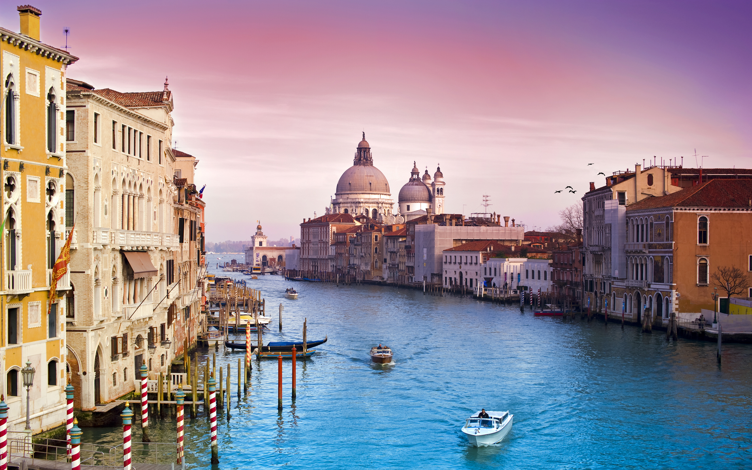 133406 Venice Grand Canal Architecture Italy City World 2560x1600