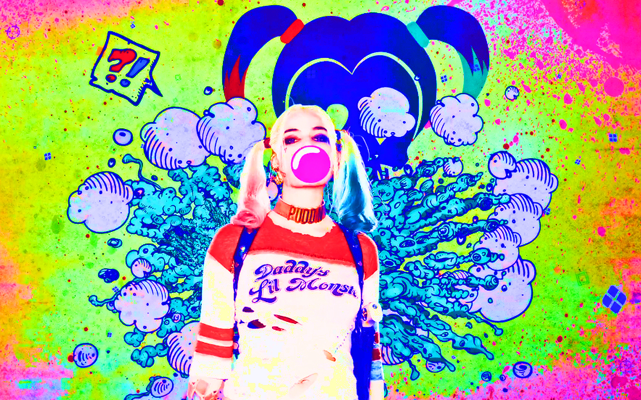 Suicide Squad larawan Harley Quinn HD wolpeyper and background mga 1280x800
