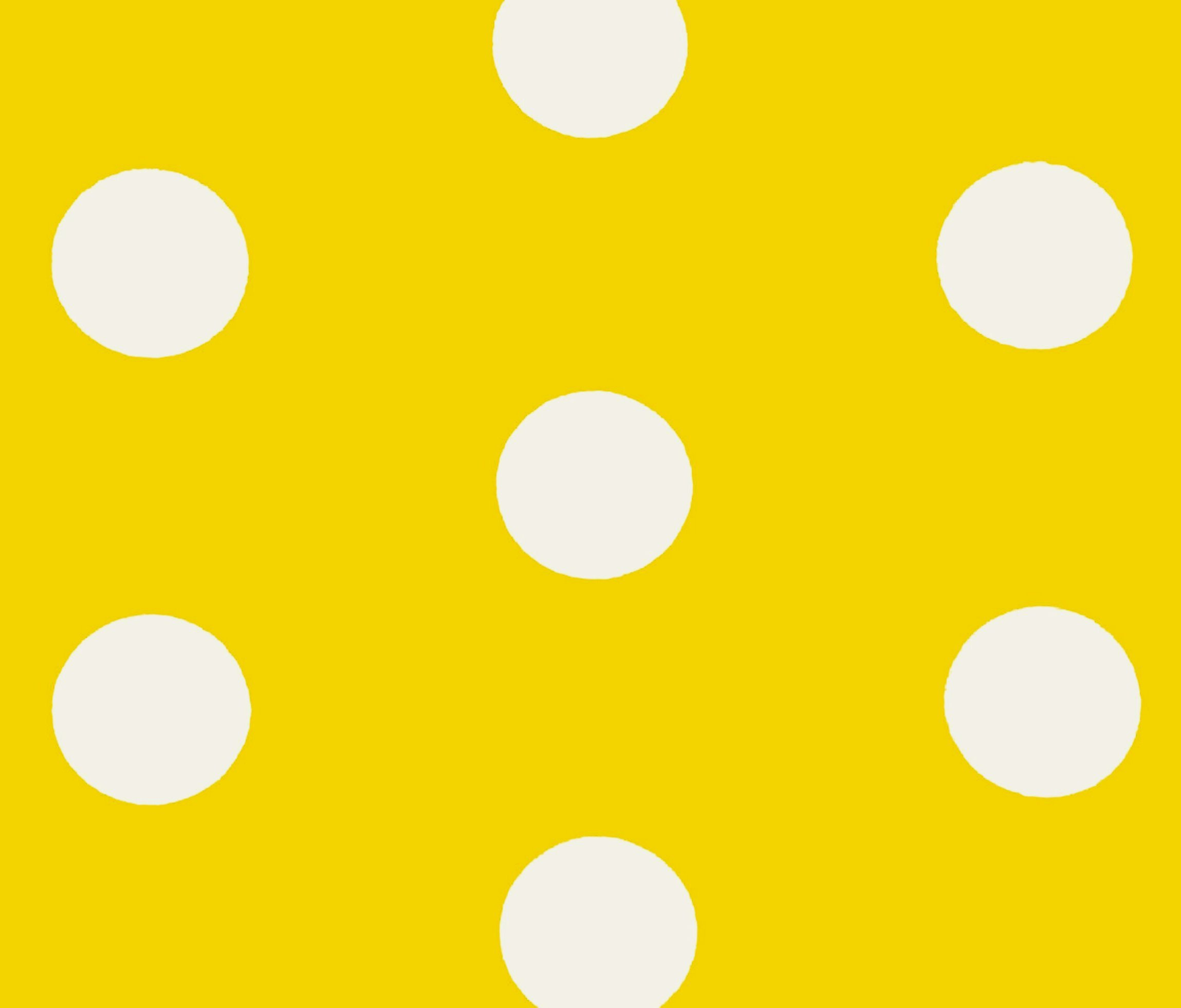 vector yellow polka dots background seamless vector pattern