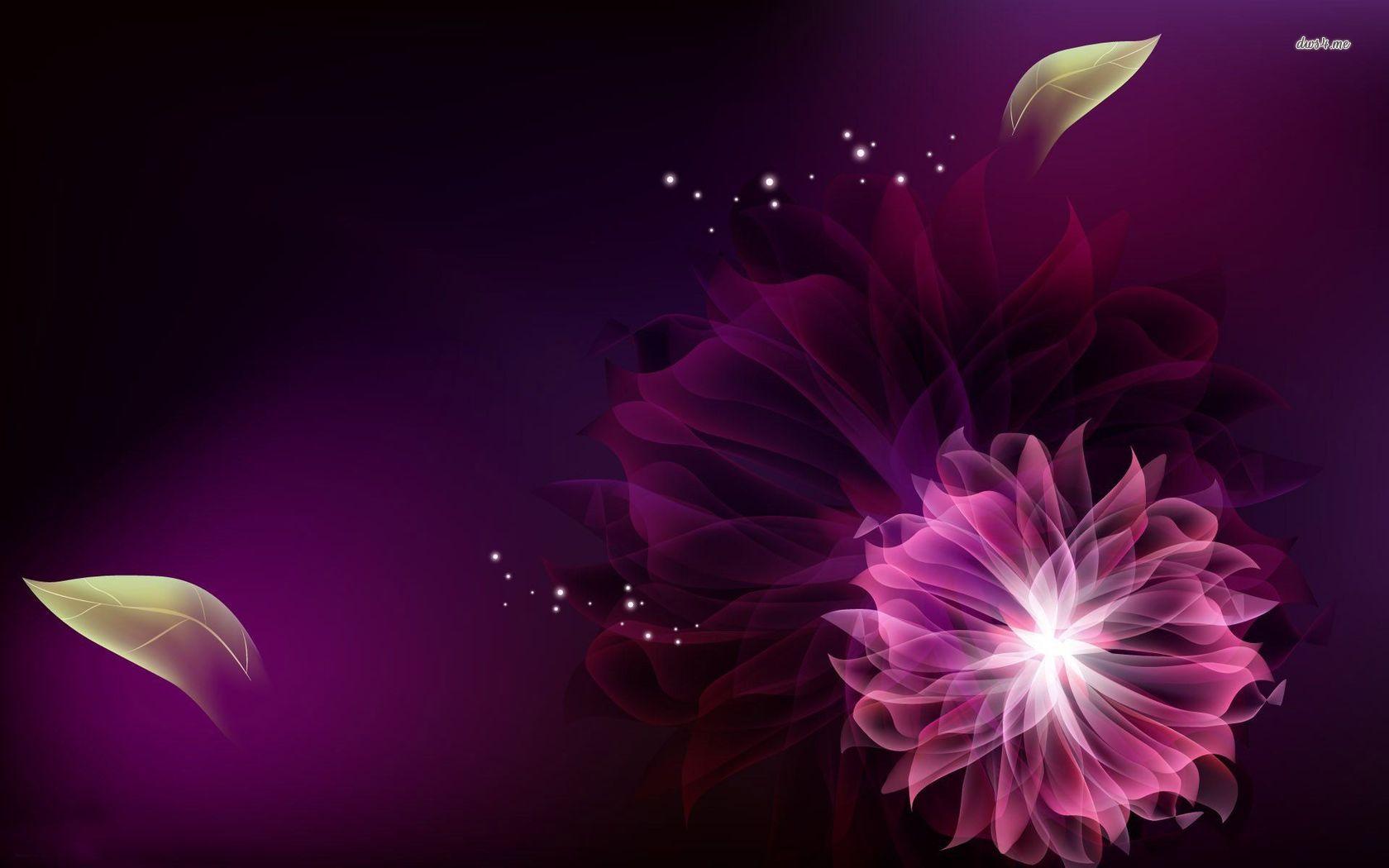 цветок сиреневый абстракция  № 3288357 загрузить