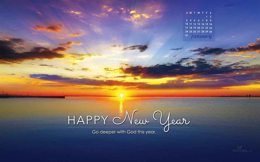 January 2016   Go Deeper with God this Year Desktop Calendar 1100x687