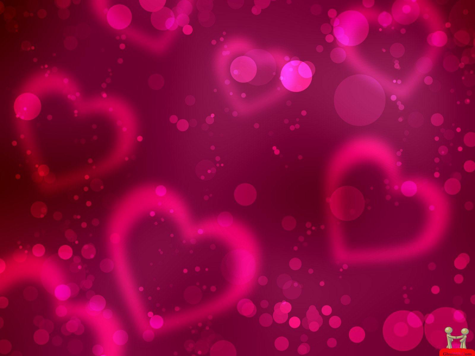 FREE WALLPAPER BEAUTIFUL DESKTOP Valentine Hearts Wallpaper 1600x1200