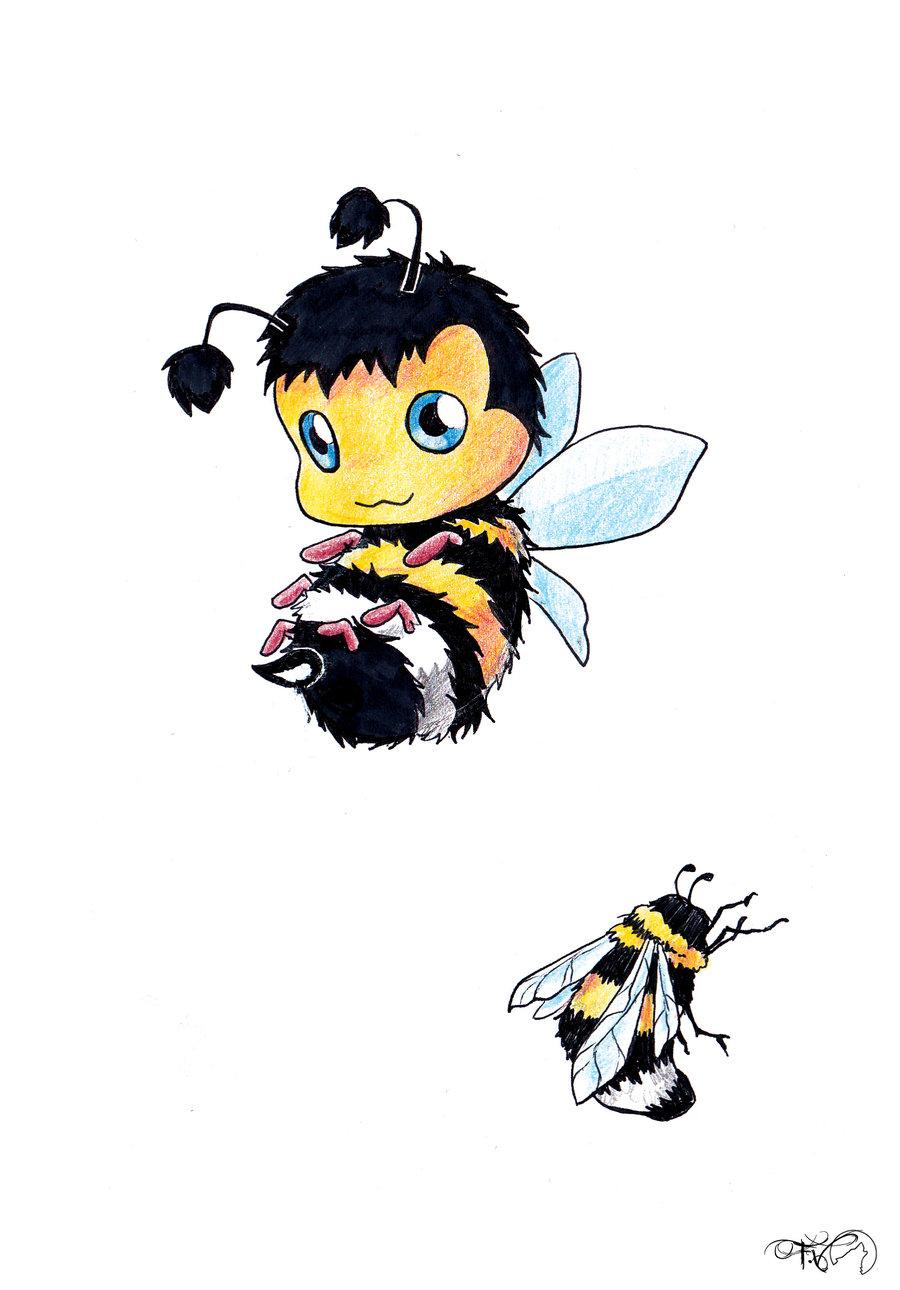 Bumble bee tattoo by kauniitaunia 900x1290