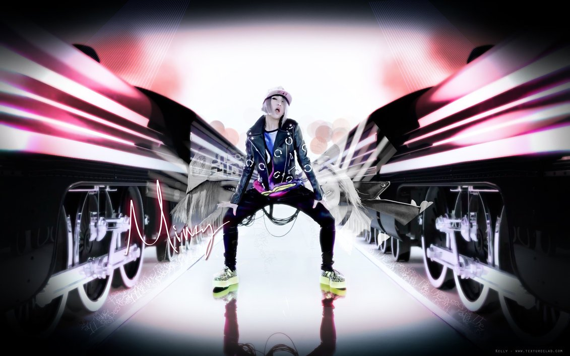 minzy   i am the best  wallpaper by textureclad d4ivgxljpg 1131x707