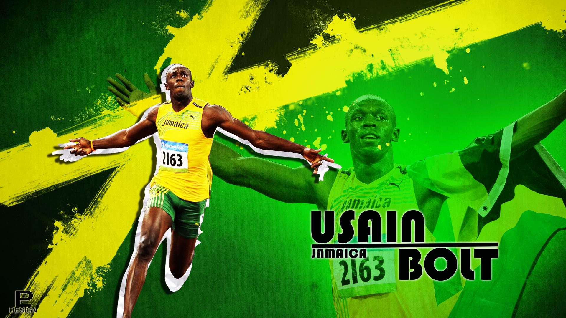 Usain Bolt by PAulie SVK 1920 x 1080 1920x1080
