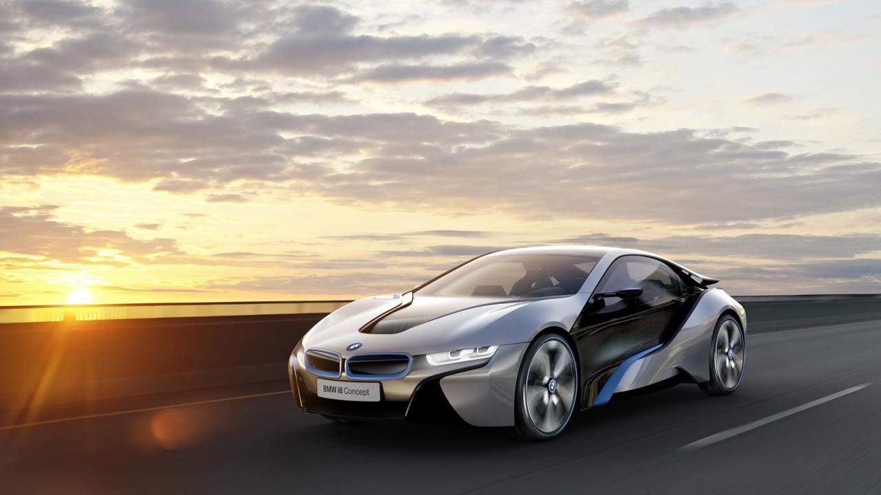 Wallpaper BMW i8 4k HD wallpaper electric cars MCV carbon 1280x720