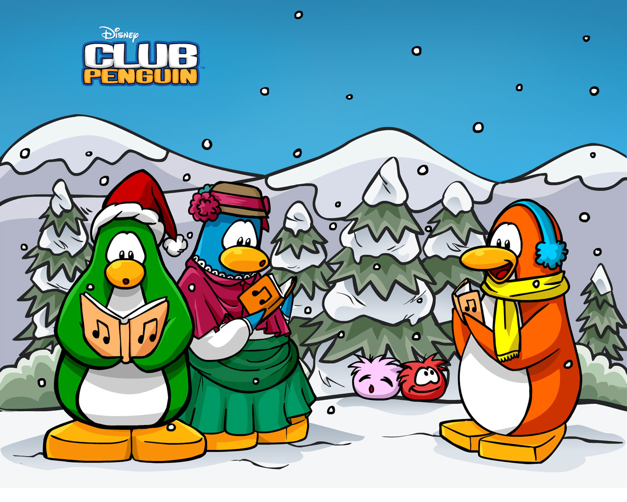Club Penguin Wallpapers The BEST Club Penguin Cheats 1280x1024