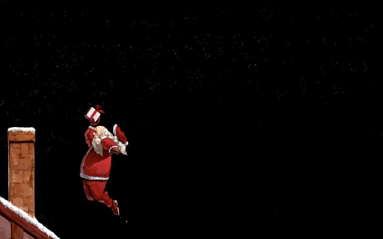 Santa Wallpapers Backgrounds - WallpaperSafari