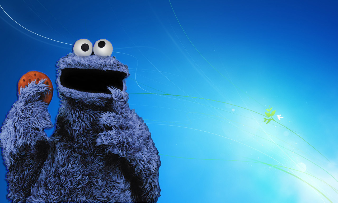 Sesame street wallpaper desktop wallpapersafari - Cookie monster wallpaper ...