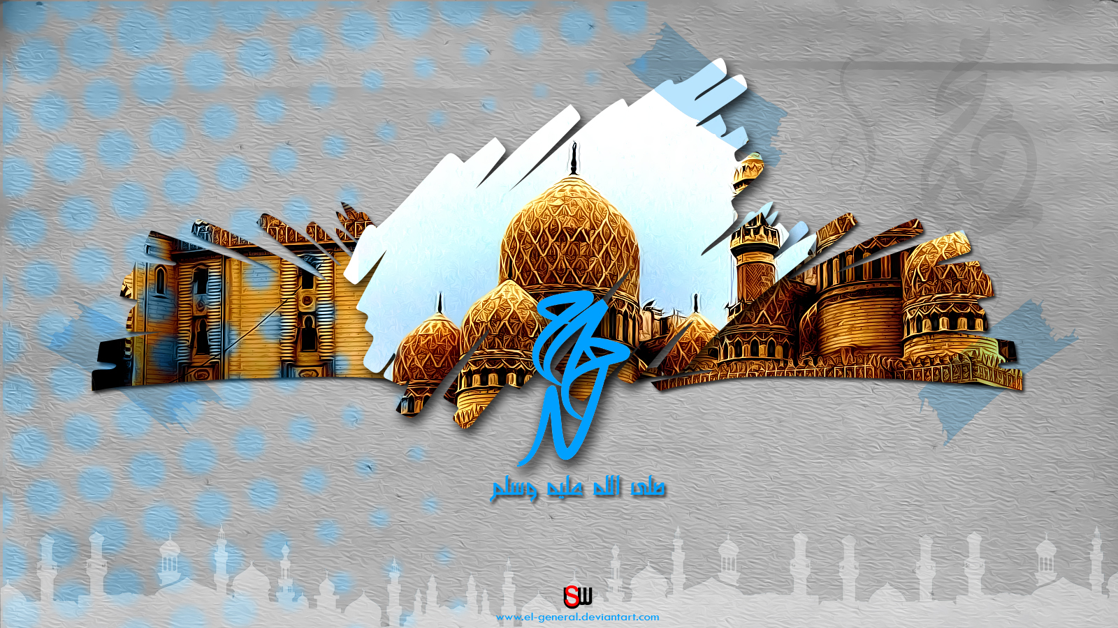 3d Islamic Wallpapers Download Images Pictures   Becuo 1600x900