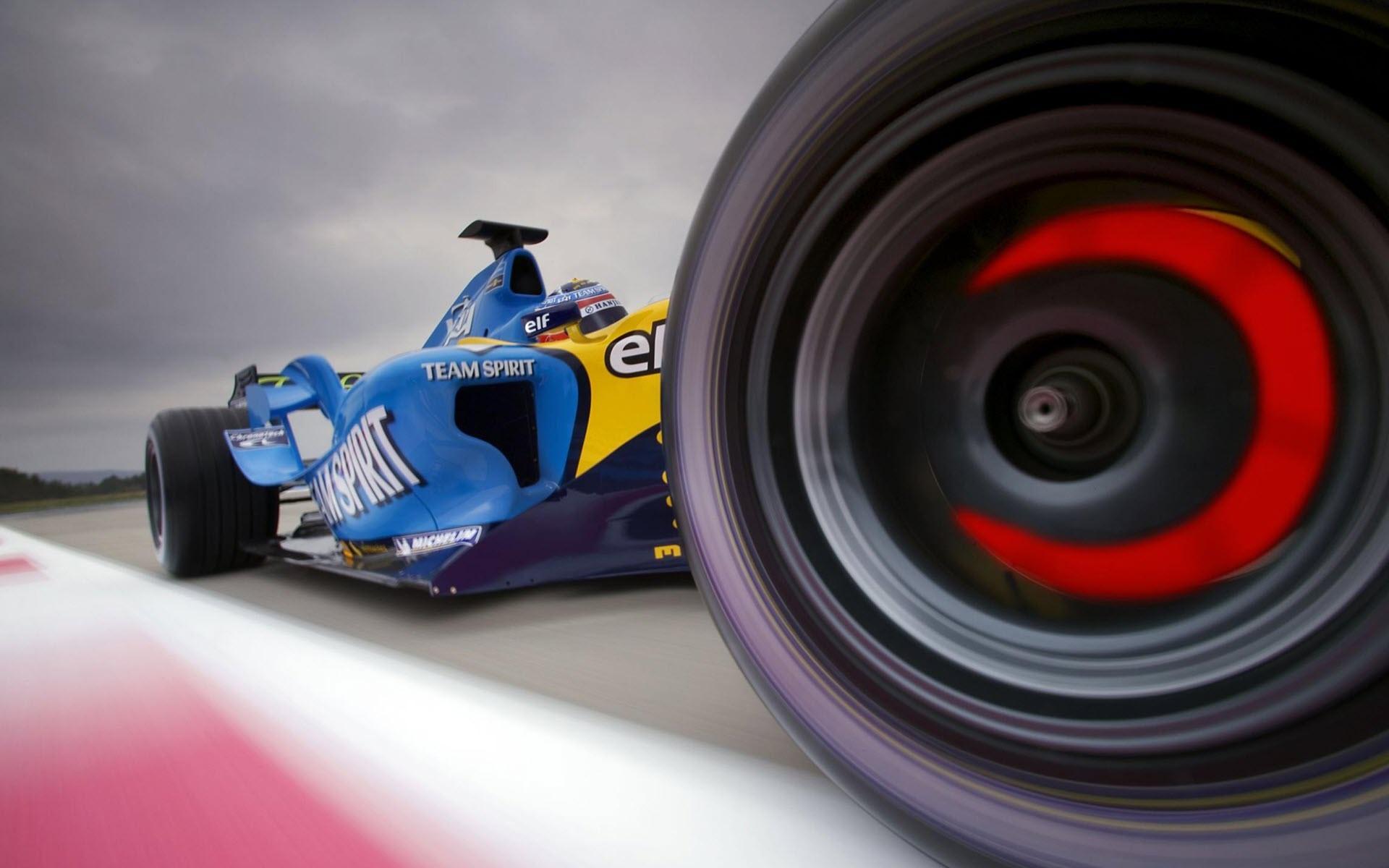 Team Spirit Formula 1 desktop wallpaper 1920x1200