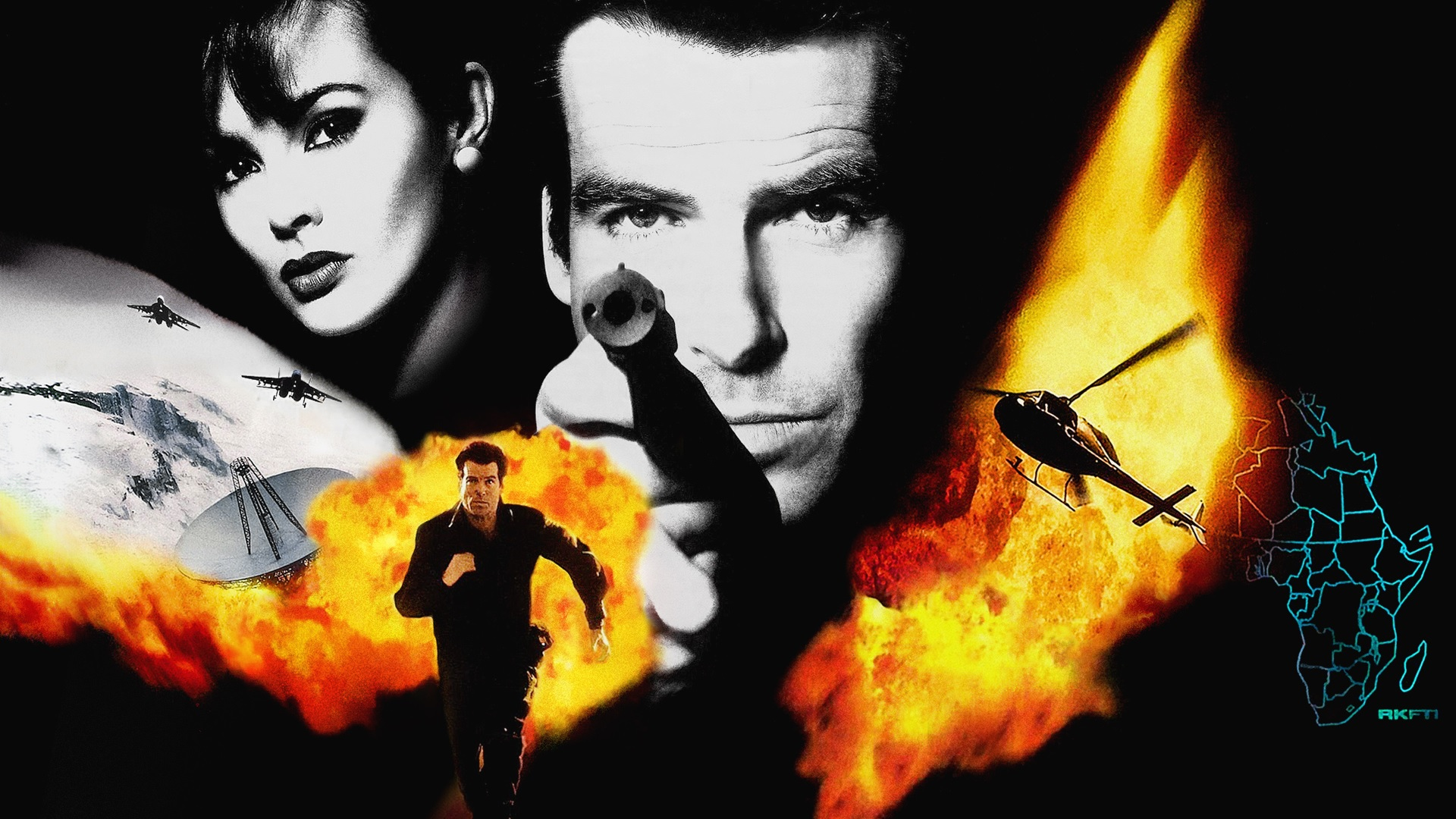4 GoldenEye 007 HD Wallpapers Backgrounds 1920x1080