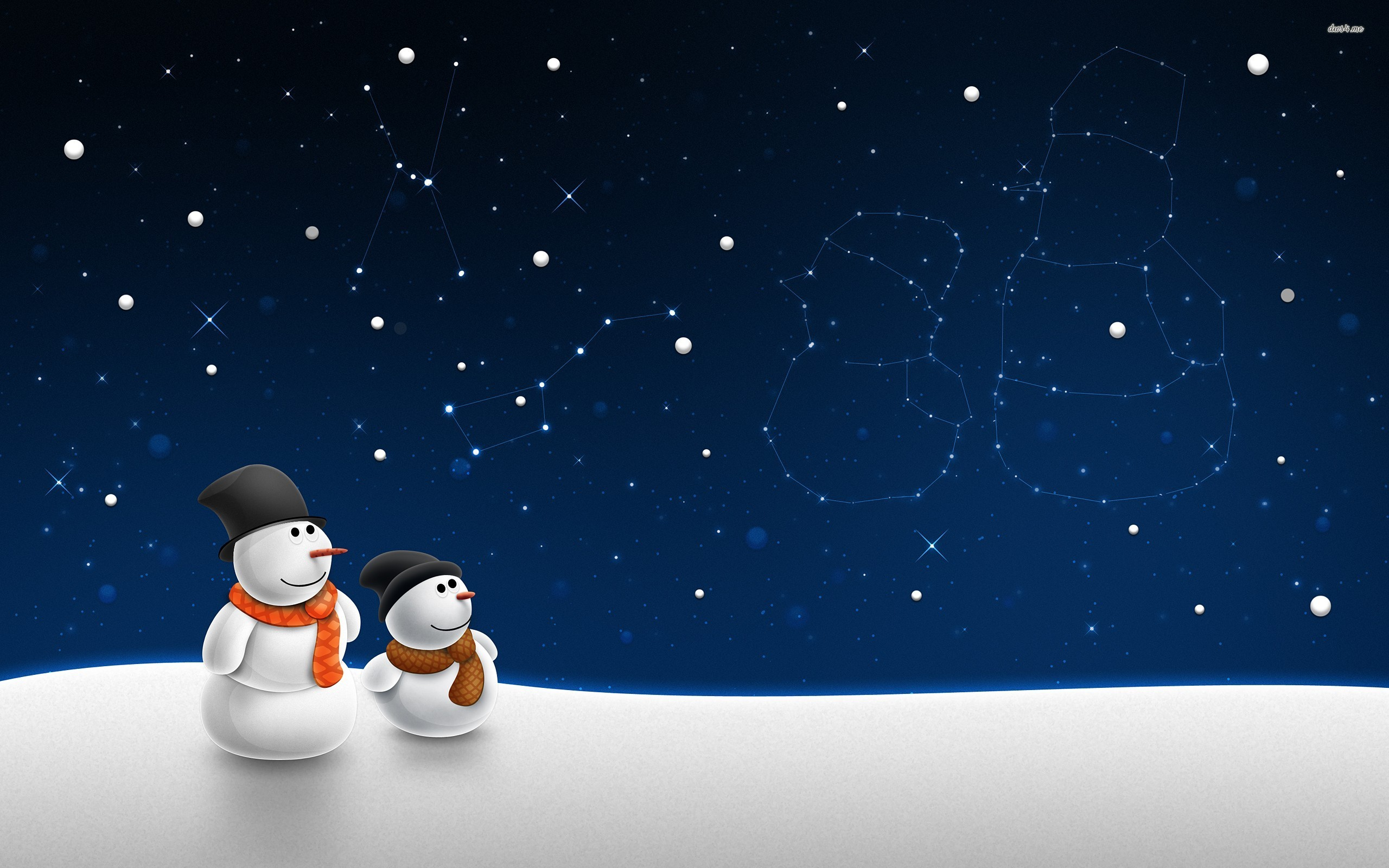 Snowman Wallpaper 2560x1600 47307