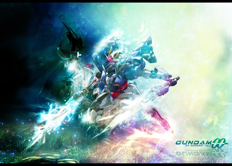 wallpaper Wallpaper De Gundam 00 1240x888