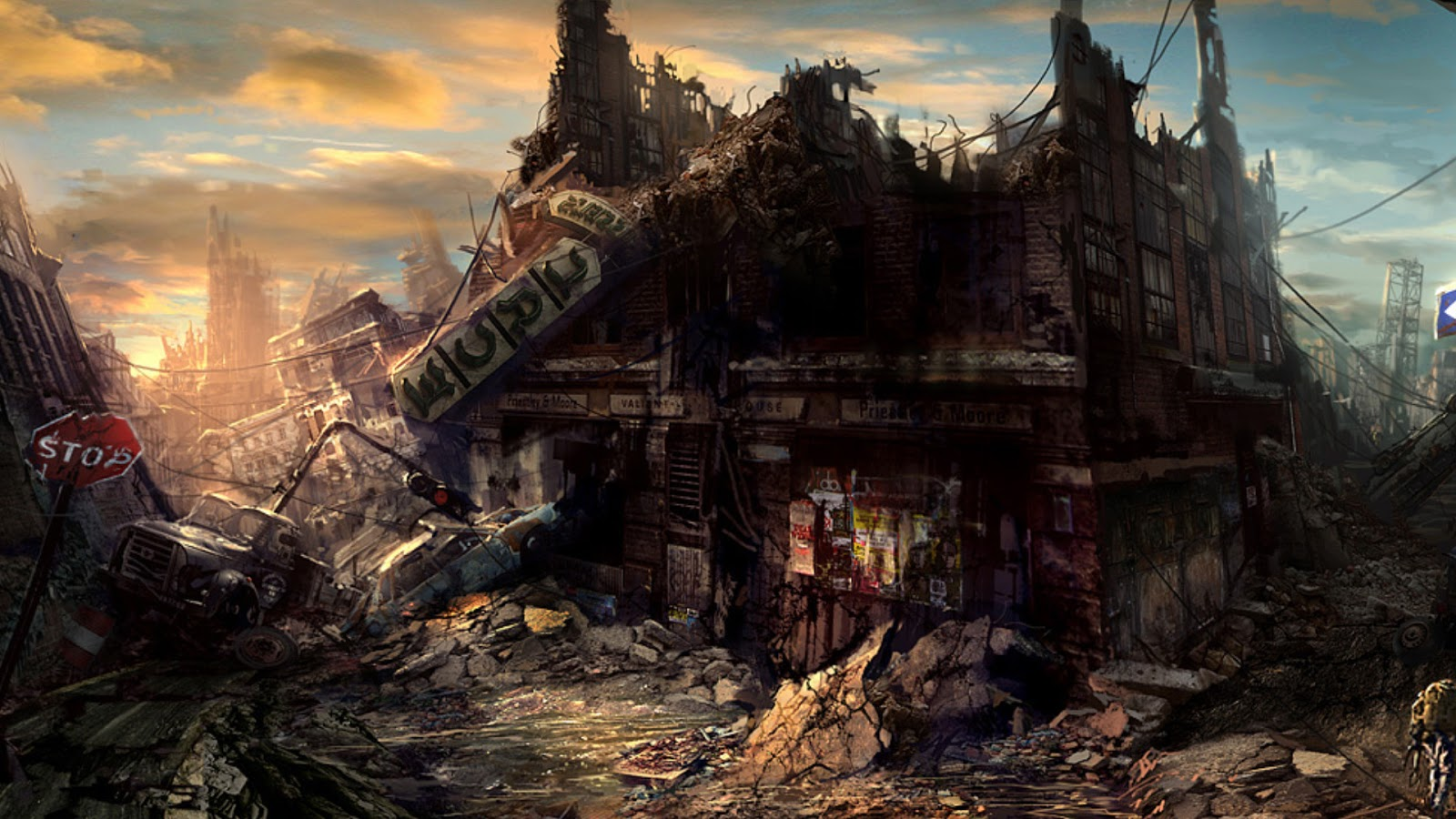 World Wildness Web Post Apocalyptic Wallpapers 1600x900