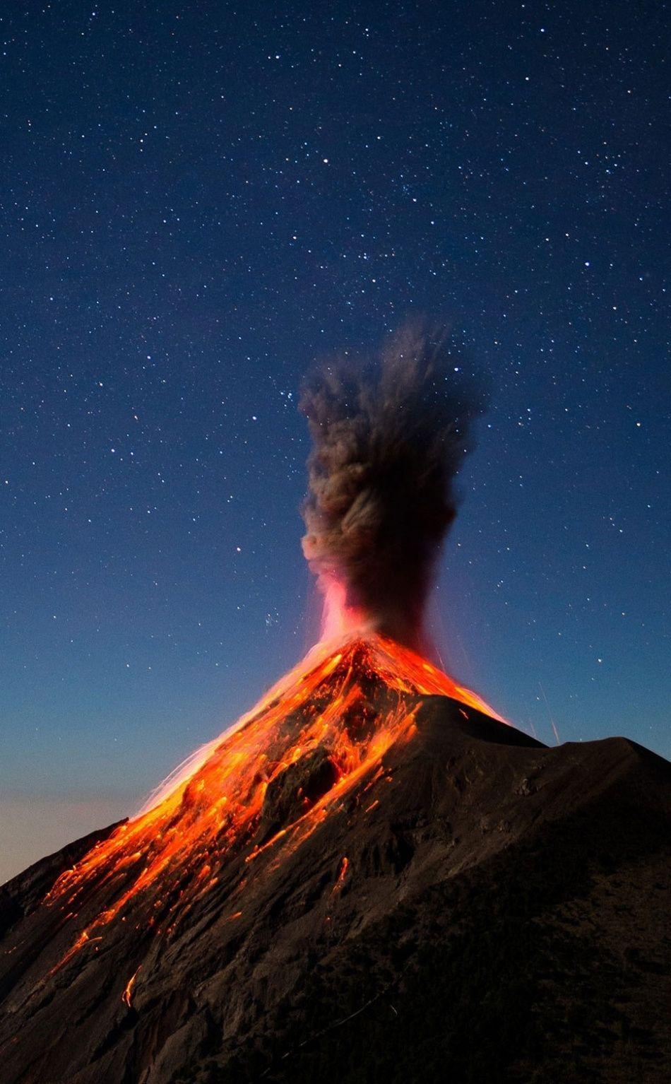 Volcano eruption lava mountain 950x1534 wallpaper Volcano 950x1534